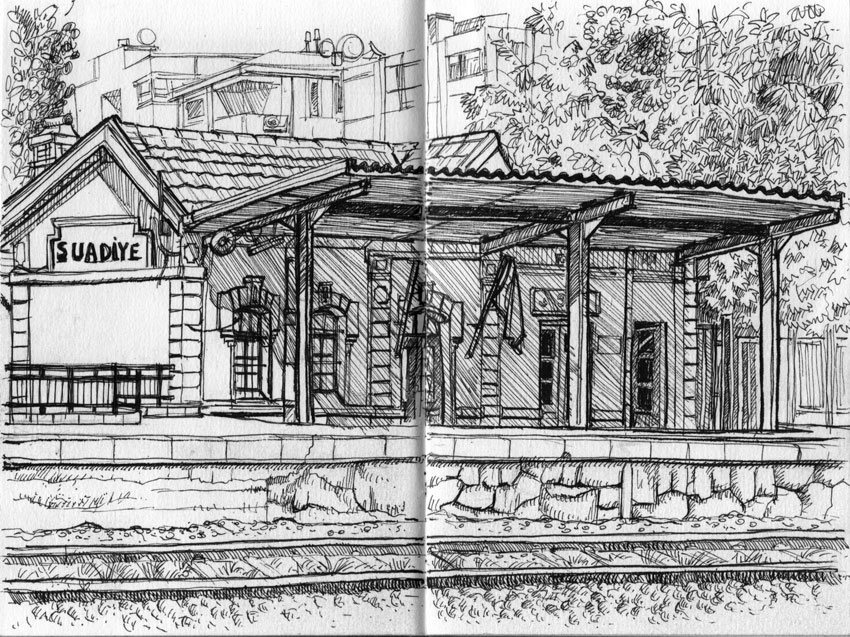 old train station drawings Gallery